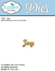 753 Elizabeth Craft Designs - Joy